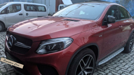 MERCEDES BENZ GLE 43 AMG COUPE.